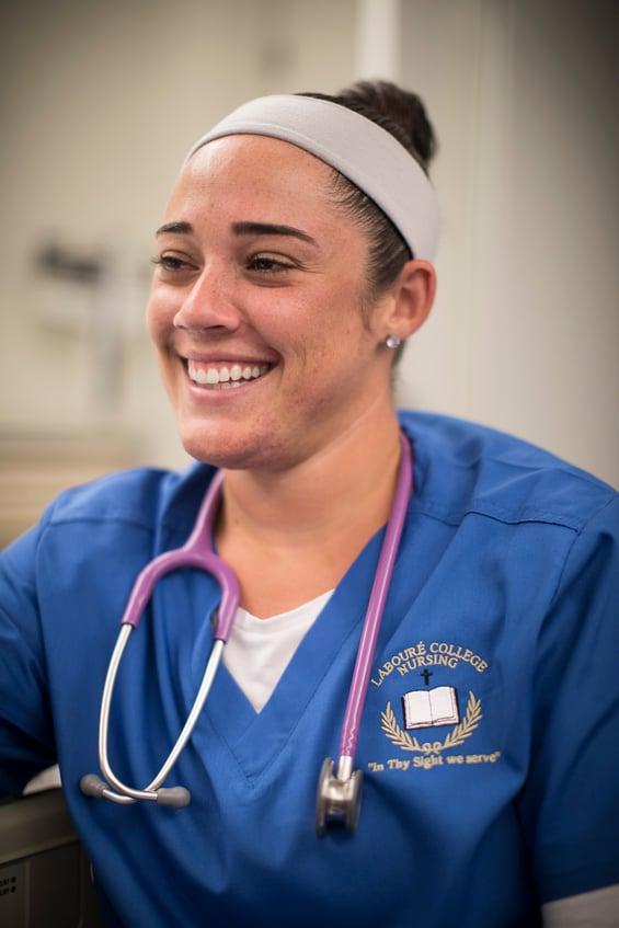 NUR student female smiling