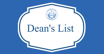 Congratulations, Fall 2020 Dean's List!
