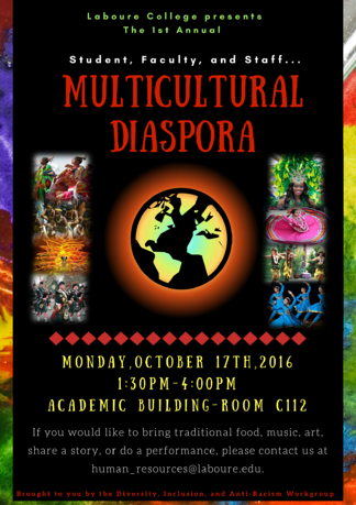 Celebrate Diversity at Our 1st Multicultural Diaspora - Featured Image