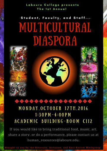 Celebrate Diversity at Our 1st Multicultural Diaspora