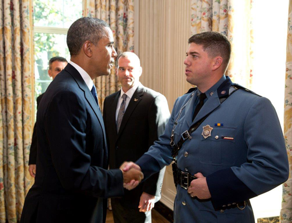 Labouré College Honors Trooper Christopher Dumont with the 2017 Massachusetts Care Award - Featured Image