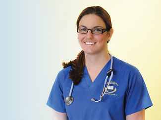 Laboure Alumni Spotlight: Hayley Devine, ASN graduate, BSN student - Featured Image