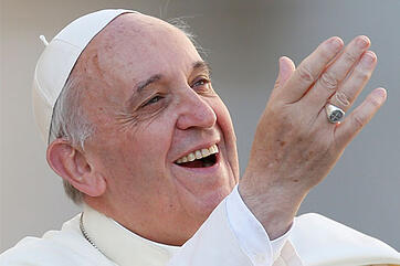 Labouré College Welcomes Pope Francis