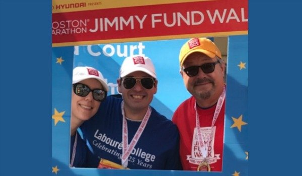 Labouré Faculty & Staff Walk for Jimmy Fund