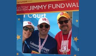Labouré Faculty & Staff Walk for Jimmy Fund - Featured Image