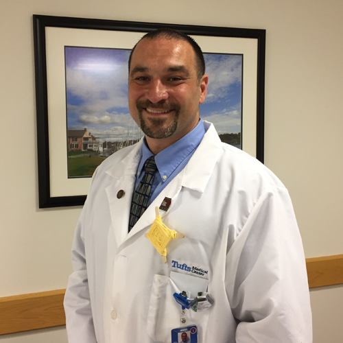 Labouré College Honors Sean O'Leary, Radiation Therapist, with a 2017 Massachusetts Care Award