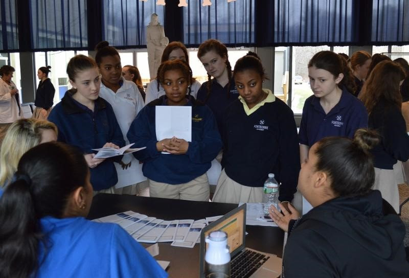 Labouré College and Fontbonne Academy Students Explore Family Health Issues - Featured Image