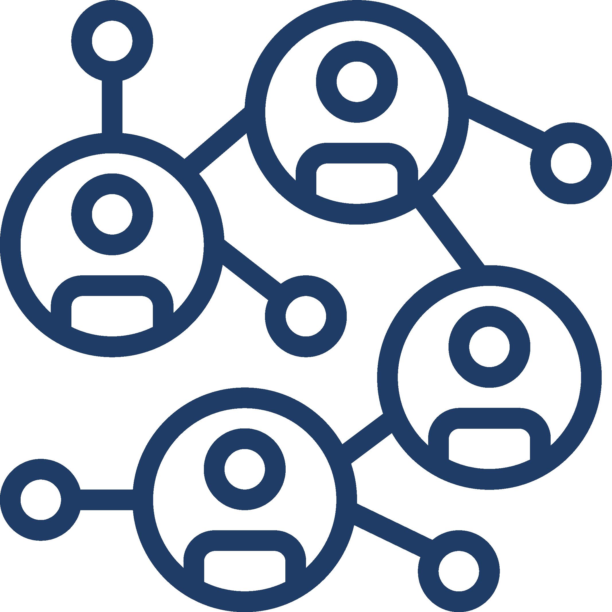 network (alumni) - navy