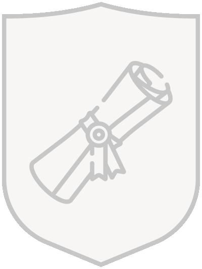 diploma - tan shield
