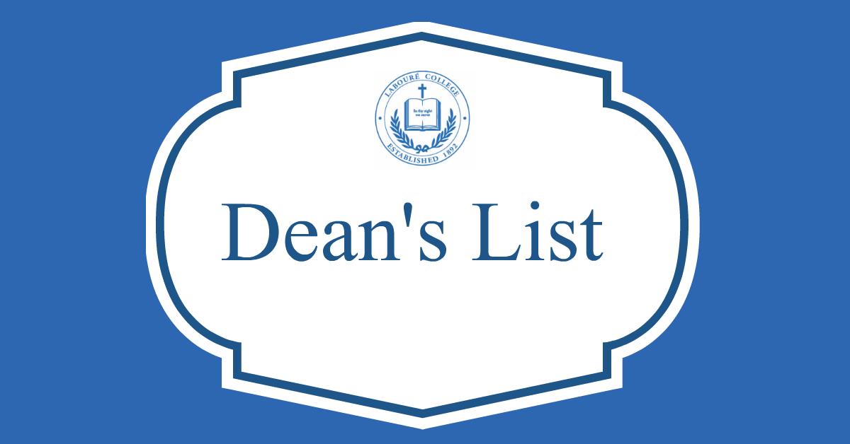 Congratulations, Fall 2020 Dean's List!
