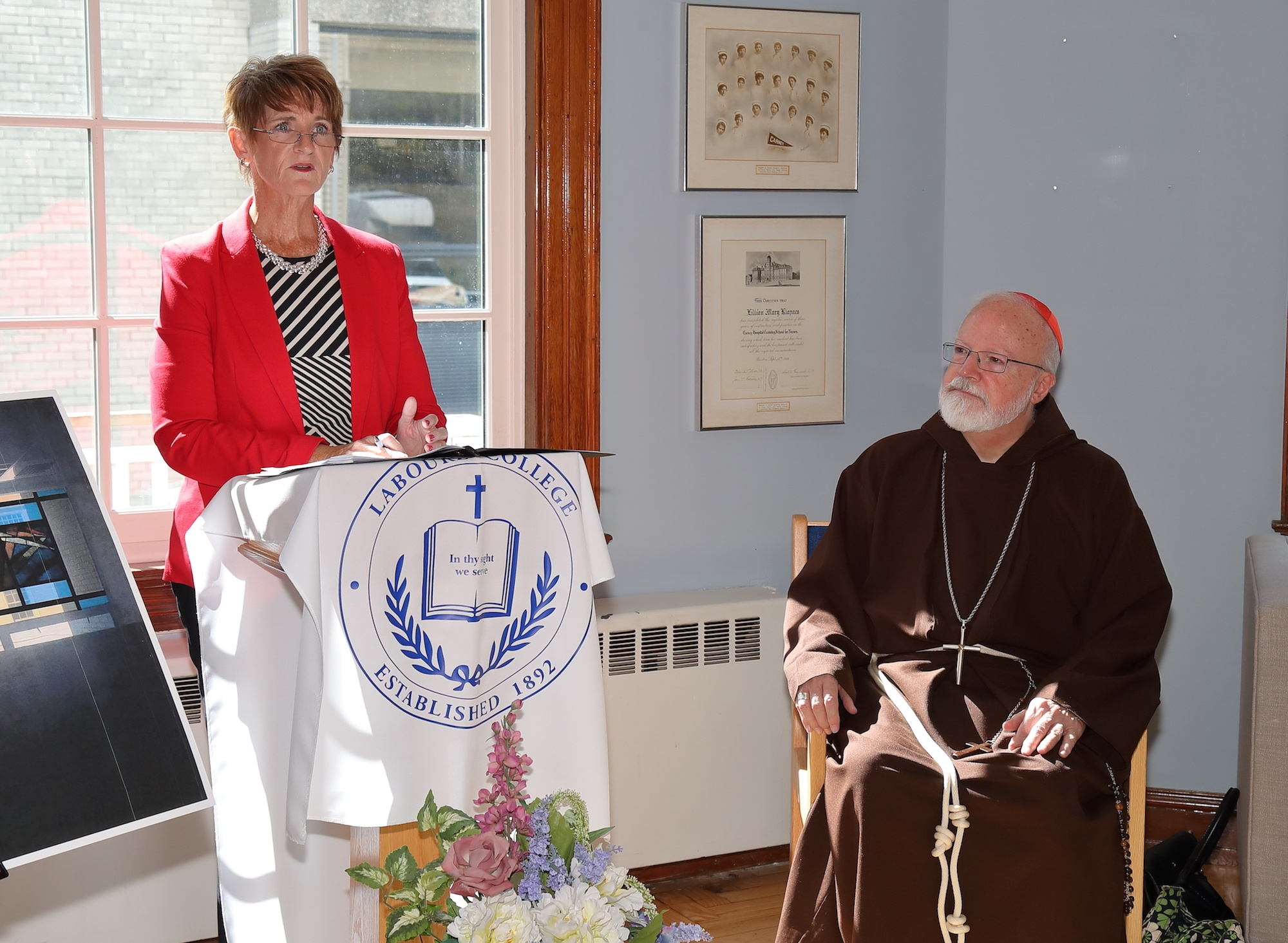 Regina Mackenzie and Cardinal OMalley.jpg